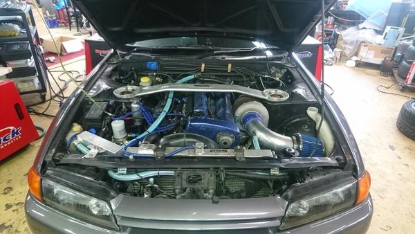 BNR32 GT-R GTX3584RSタービンセッティング!後編