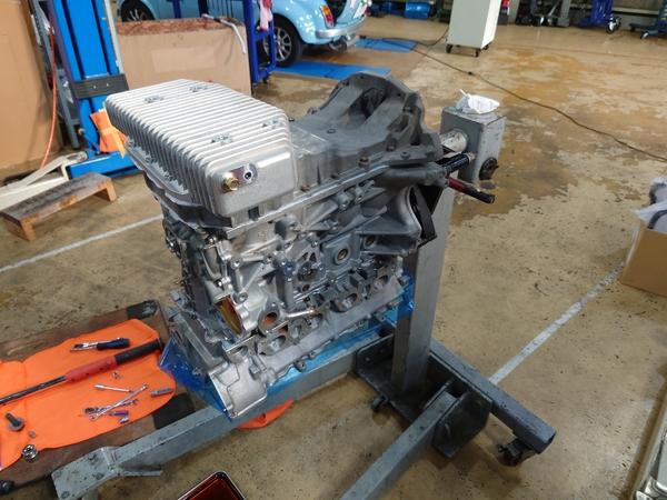 継続車検×2台とSR20エンジンの組み上げ!