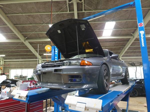 BNR32 GT-R LINK G4Xコンバート完成!ならず・・・。