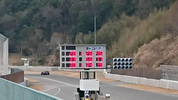 速報! 静音R35がスパ西にてベスト更新 56秒774!!