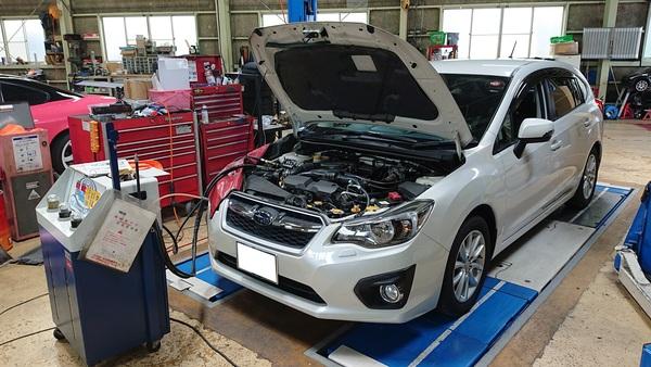 GP7 インプレッサ CVTF交換 R35 GT-R タイヤ交換