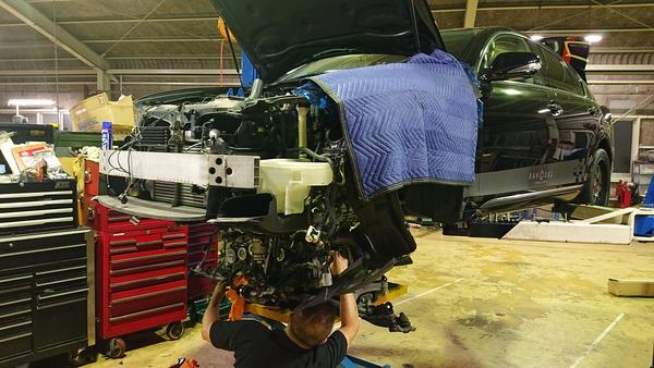 レクサスGS350 GRS191 各作業完成納車へ!