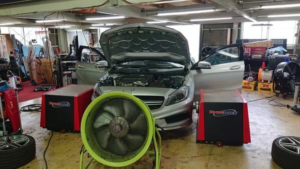 W176メルセデスベンツA45-AMG ECUセッティング完了!
