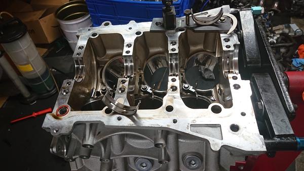 ZN6 86用FA20改2.1Lエンジン組み上げスタート!
