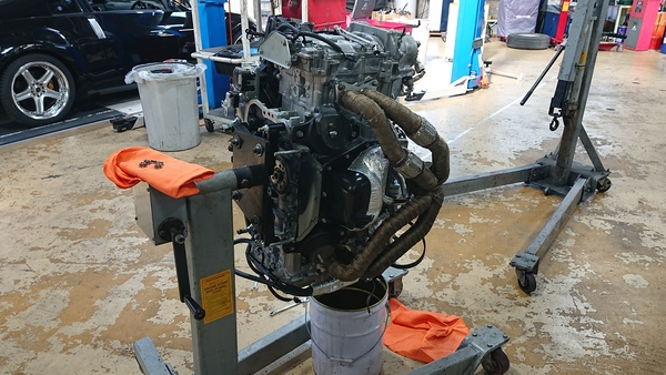 年末追憶その3 FA20ターボエンジンのリビルト!