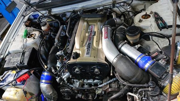 技術の日産 ガスケット処理に関する迷走@RBエンジンのウォーターポンプ編