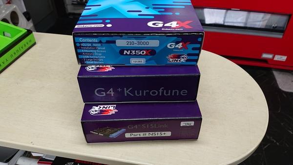 LINK G4X 350Z&G4+S15プラグイン G4+KUROHUNE 限定1台ずつ!
