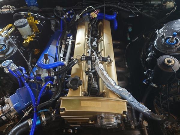HCR32@RB25NA LinkG4+にて慣らし運転用データー入力