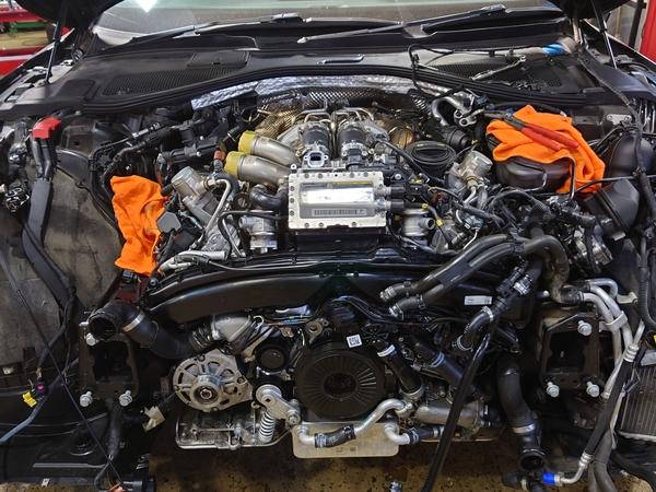 AUDI S7 オイル漏れ修理完了!