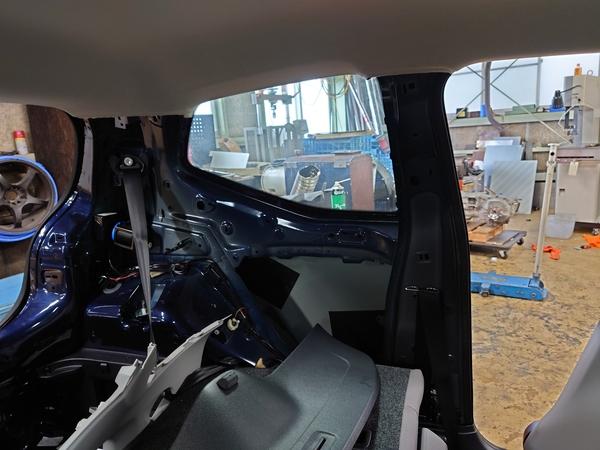 VW UP!内装のリメイクとエアコンリフレッシュ完成