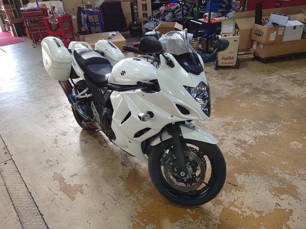 久しぶりにヤフオク出品 バイク バンディット1250Fも出品中!