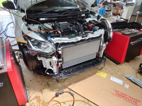 ZC33S 後期タービン交換車両のECUセッティング完成!